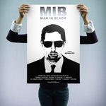 "Plakat Filmowy ""Man in Black"""