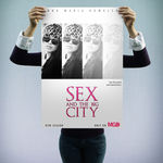 """Sex and the big city"" - personalizowany plakat filmowy"