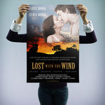 """Lost with the Wind"" - personalizowany plakat filmowy"